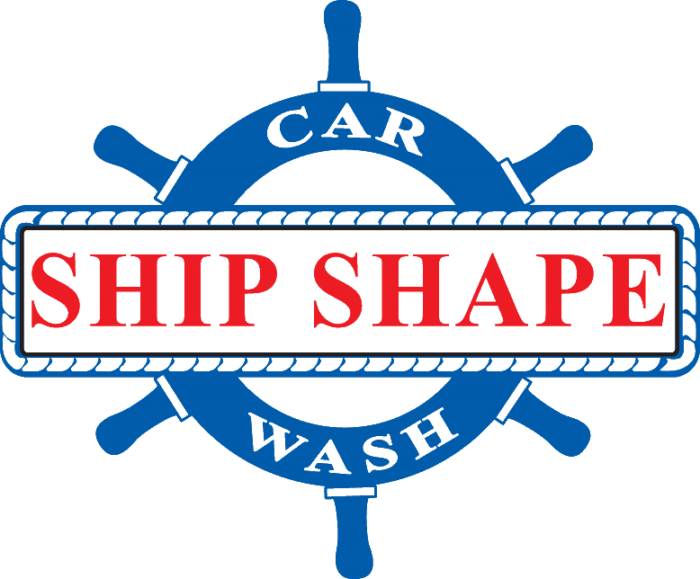 Ship Shape Car Wash Logo